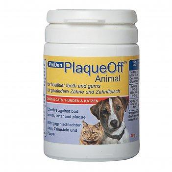 Средство для профилактики зубного камня proden plaqueoff для кошек и собак