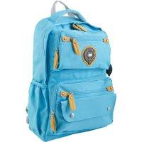 Рюкзак yes ox 323 29*46*13 синий