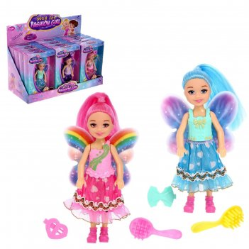 Кукла малышка  фея с аксессуарами, микс