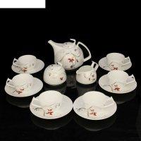 Сервиз чайный катрин, 15 предметов: чайник 1 л, чашка 160 мл, сахарница 30