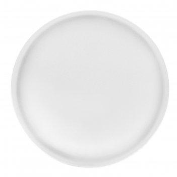 Блюдо 300 мм белье, круглое