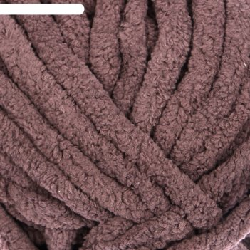 Пряжа adelia dolly 100% полиэстер 40м/100гр (26 т.серый)