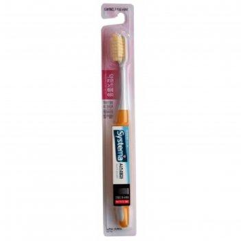 Зубная щётка cj lion systema для чувствительных дёсен, 1 шт.