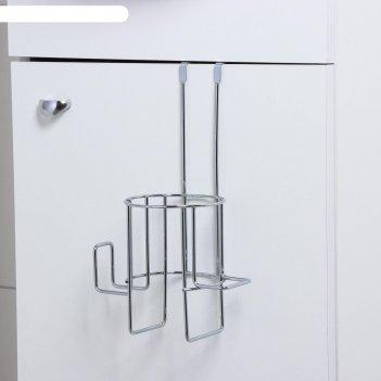 Держатель для фена подвесной tekno-tel, цвет хром