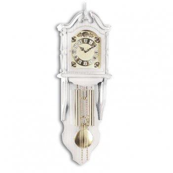 Настенные механические часы sars 4503-261 white