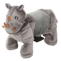Зоомобиль носорог, с аккумулятором