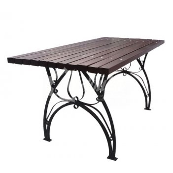 Стол садовый «флора» 1,2 м