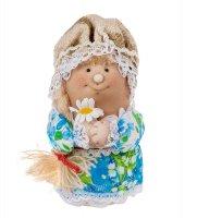 Кукла-шкатулка марфуша с косой