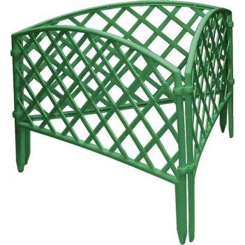 Забор декоративный сетка 24 x 320 см, зеленый россия palisad
