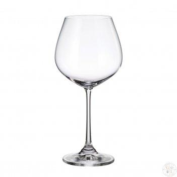 Набор бокалов для вина crystalite bohemia columba 640 мл(6 шт)