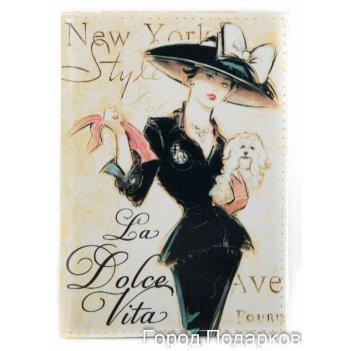 Обложка для паспорта дольче вита нью йорк