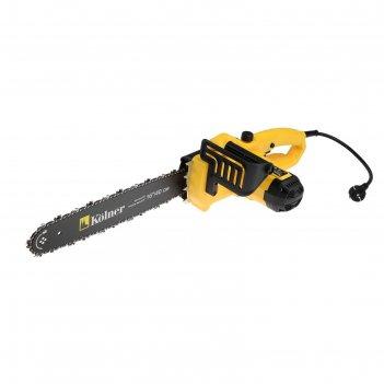 Пила цепная электрическая kolner kecs 40/1800, 1800вт, 16, шаг 3/8, паз 1.