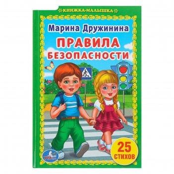Книжка-малышка «правила безопасности». дружинина м.