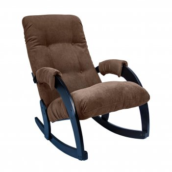 Кресло-качалка ми модель 67, венге, ткань verona brown