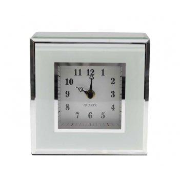 Часы jardin dete инь-ян, cталь, стекло, 17,5 х 17,5 х 6,5 см,
