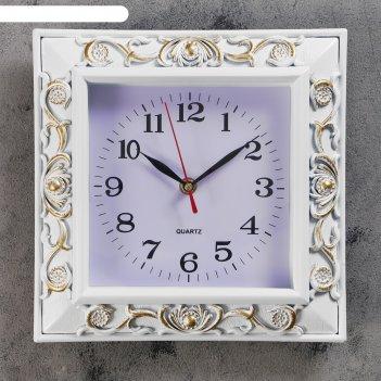 Часы настенные, серия: классика, доминик, 25х25 см