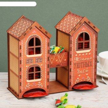 Чайный домик пряничный дом