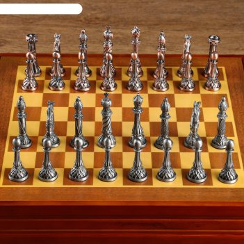 Шахматные фигуры сувенирные, h короля=8 см, пешки=5.6 см. d=2 см