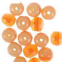 Бусины zlatka акрил str-12 12мм  набор 50±2шт (07 бл.оранжевый)