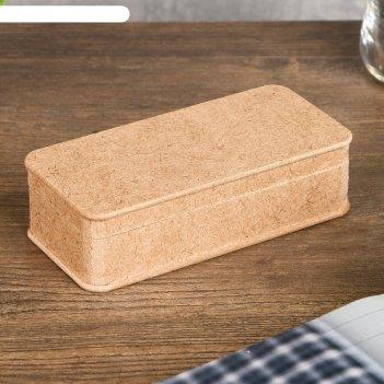 Шкатулка для декора из мдф 14,5х6,5х4 см