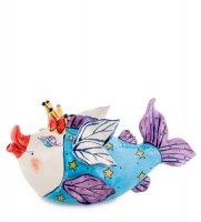 Bs-224 заварочный чайник рыба королева