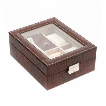 Шкатулка для хранения часов и ювелирных украшений  calvani 20*16*8см