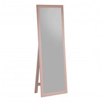 Зеркало напольное, цвет светлый дуб