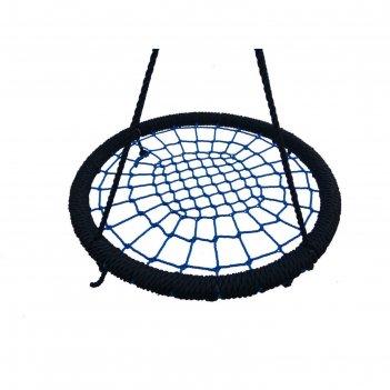 Качели гнездо круглые 100см на канатах