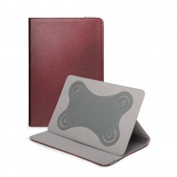 Чехол gresso прайм для планшетов 7-8, бордовый