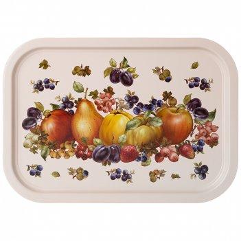 Поднос agness фрукты 28,5*40 см