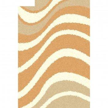 Ковёр shaggy ultra s607, 3*4 м, прямоугольный, beige