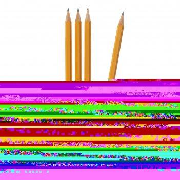 Набор 4шт карандаш ч/г k-i-n проф 1500 h10 заточен. (2334231)