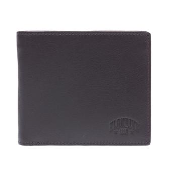Бумажник klondike claim, натуральная кожа в коричневом цвете, 12 х 2 х 10