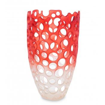 Bmb-72 ваза перфора красный омбре