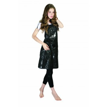 Фартук для стрижки dewal love с карманами на молниях 66x78 см