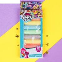 Мелки цветные для творчества 10 цветов  my little pony 40110-mlp
