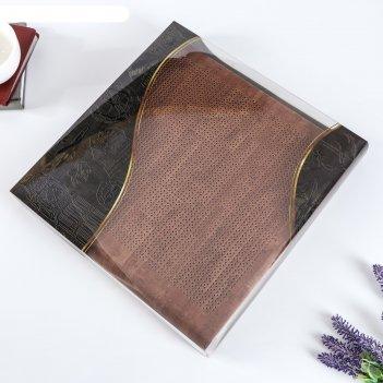 Фотоальбом магнитный 30 листов  клетка  31х32 см