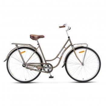 Велосипед 28 stels navigator-320 lady, 2017, цвет серый, размер 19,5