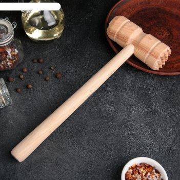 Молоток для мяса деревянный бук