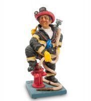 Fo 84010 статуэтка мал. пожарный (the firefighter. forchino)