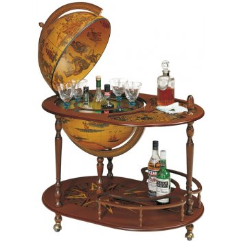 61 глобус бар со столиком zoffoli, диаметр 50 см, 68х92х98h