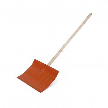 Лопата радиусная лтр стальная порошковая с деревянным черенком 1-го сорта