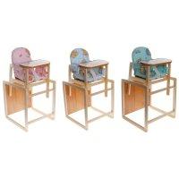 Стульчик для кормления модель цс, трансформируется в стол и стул, цвета ми