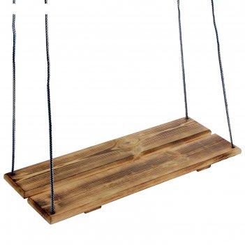Качели подвесные, деревянные, термо, 60х22см