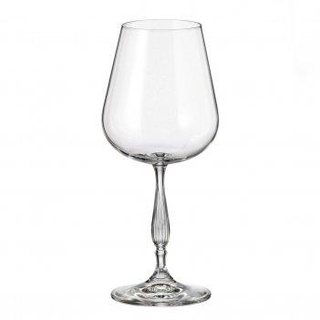 Набор бокалов для вина crystalite bohemia scopus/evita 540 мл(6 шт)