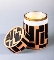 Wd-23/ 1 свеча аром. янтарь и мирра в под. кор.