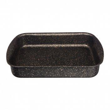 Форма agness премиум черное золото прямоугольная 30х22x6 см, трехслойное