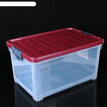 Ящик для хранения systema 48 л зеленый прозрачный