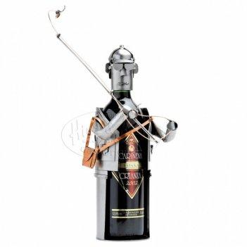 6027 украшение для бутылки рыбакnew  , d.9,5 см