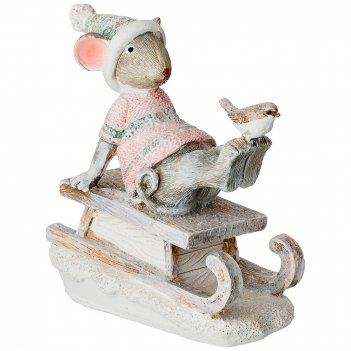 Фигурка мышки 11*5*11 см. (кор=48шт.)